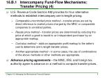 16 b 1 intercompany fund flow mechanisms transfer pricing 4