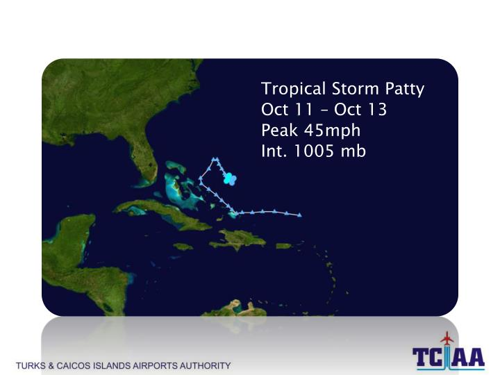 Tropical Storm Patty