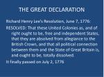the great declaration2