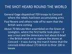the shot heard round the world1