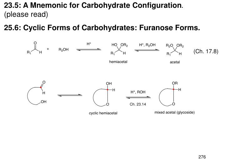 23.5: A Mnemonic for Carbohydrate Configuration