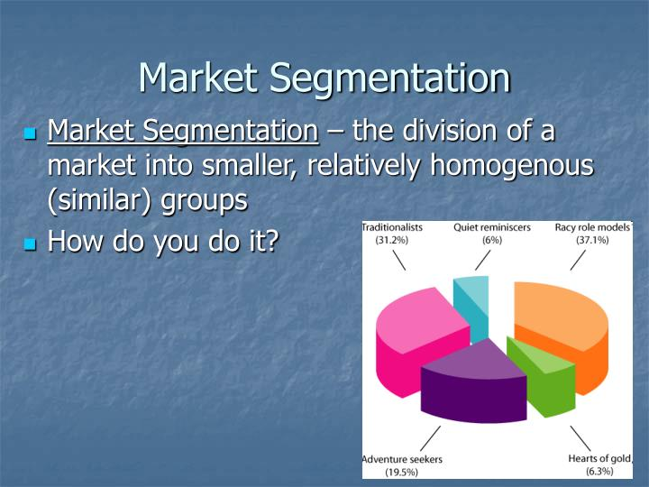 market segmentation by diesel Market segment b (fashion-oriented) also of similar age range as diesel's target market, these fashion-oriented individuals may not often engage in repeat purchases.
