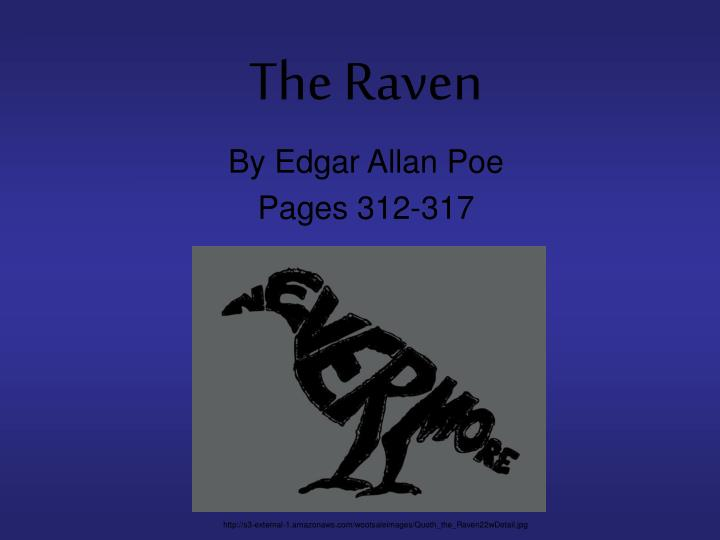 the raven essay thesis