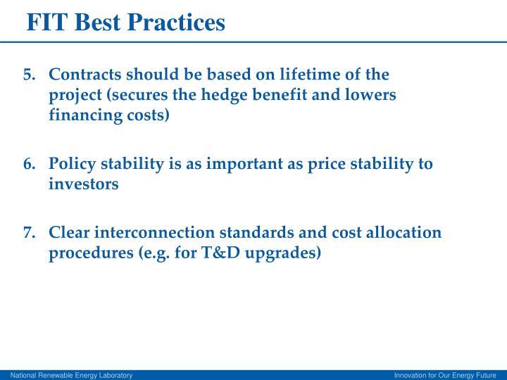 FIT Best Practices