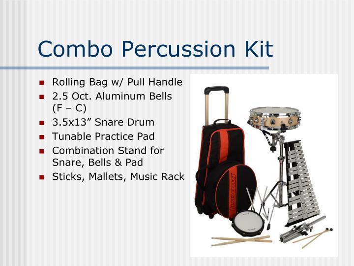 Combo Percussion Kit