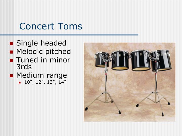 Concert Toms