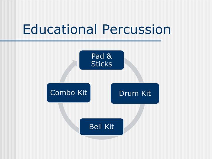 Educational Percussion