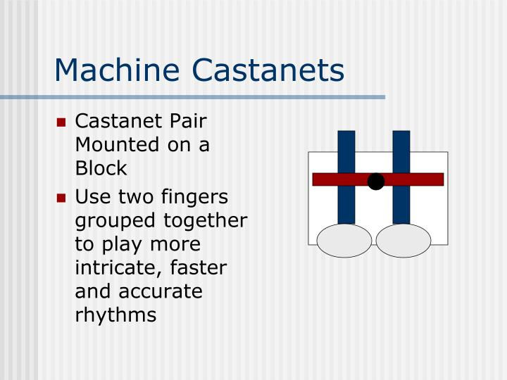 Machine Castanets