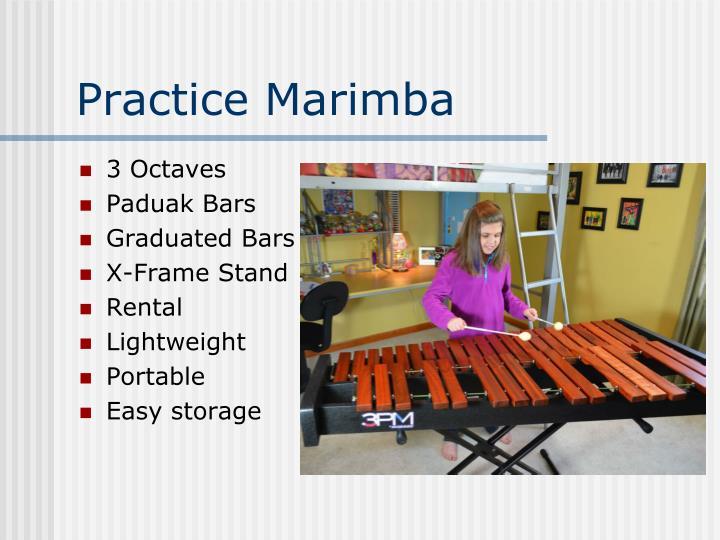 Practice Marimba