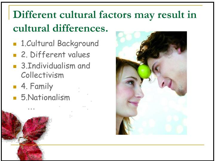 different cultural values Values vs beliefs values unite, beliefs divide there is a significant difference between values and beliefs.