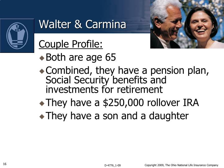 Walter & Carmina