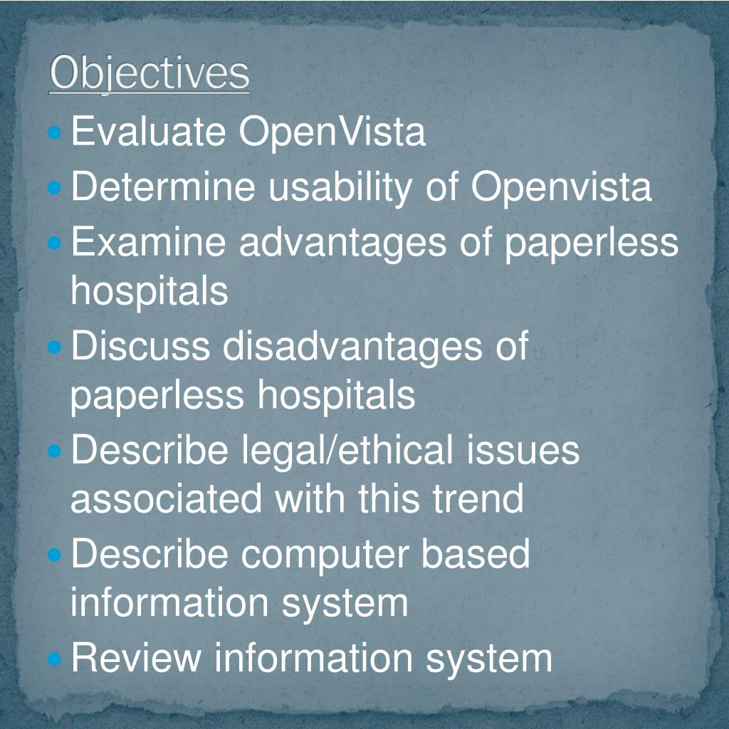 PPT - PAPERLESS HOSPITALS PowerPoint Presentation - ID:3042671