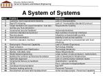 a system of systems