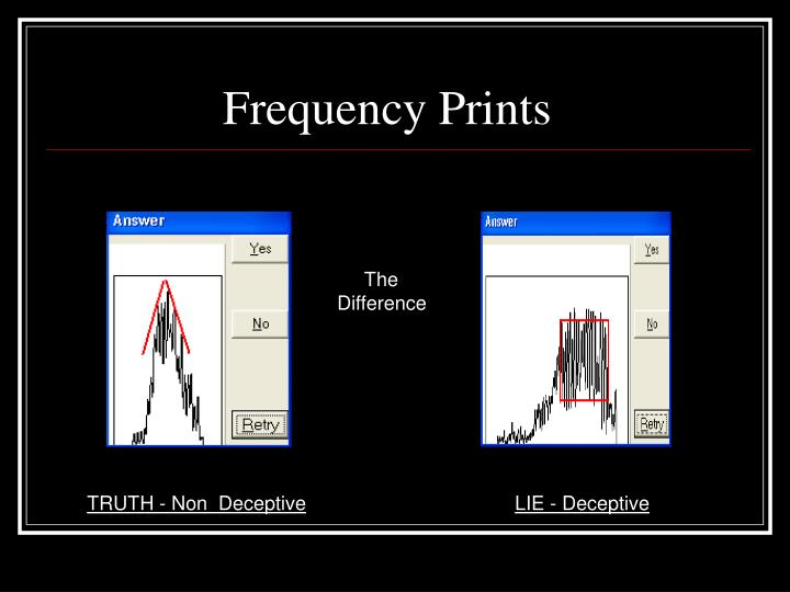 Frequency Prints