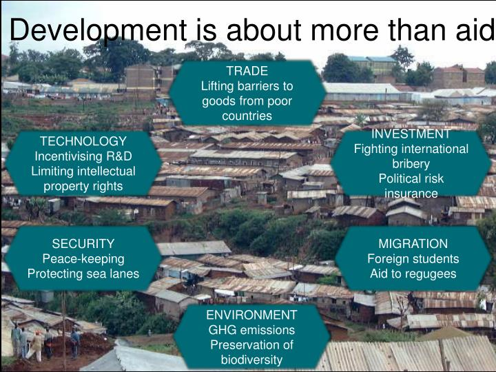 Development is about more than aid