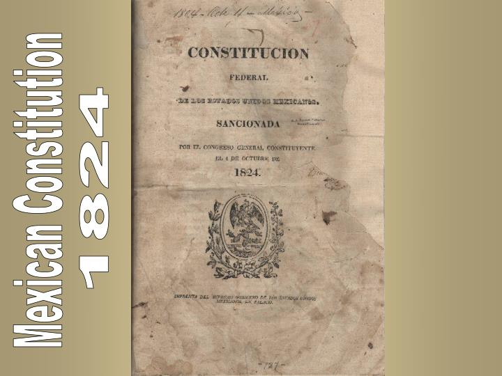 ppt mexican constitution powerpoint presentation id 3043345