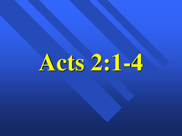 acts 2 1 4 n.