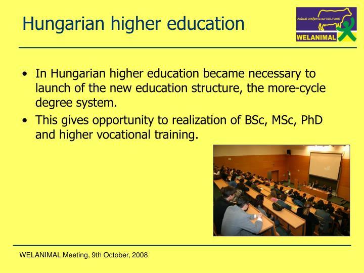 Hungarian higher education