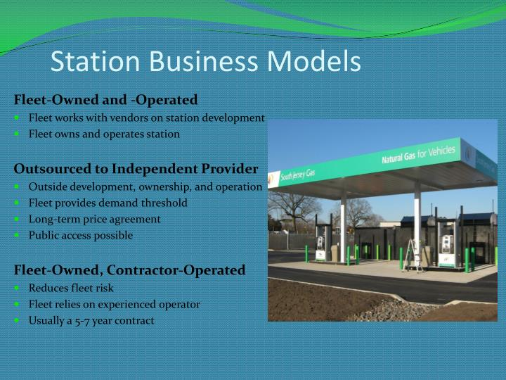 Station Business Models