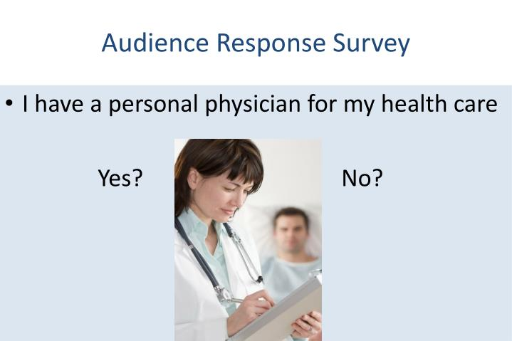 Audience Response Survey