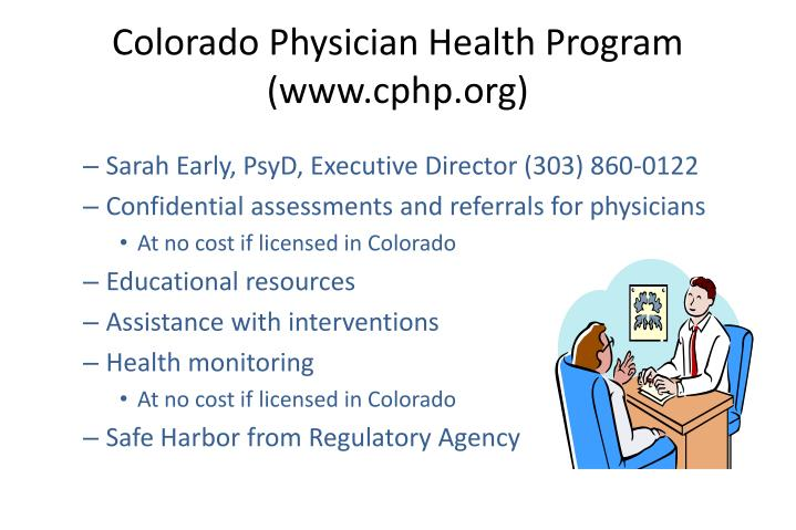 Colorado Physician Health Program