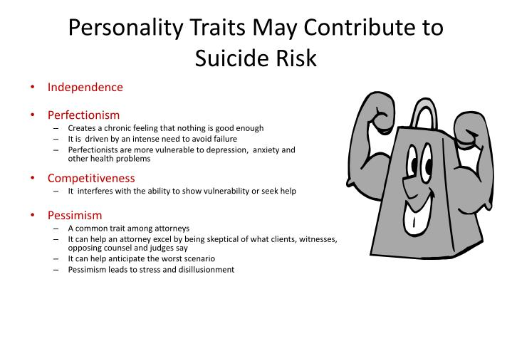 Personality Traits May Contribute to Suicide Risk
