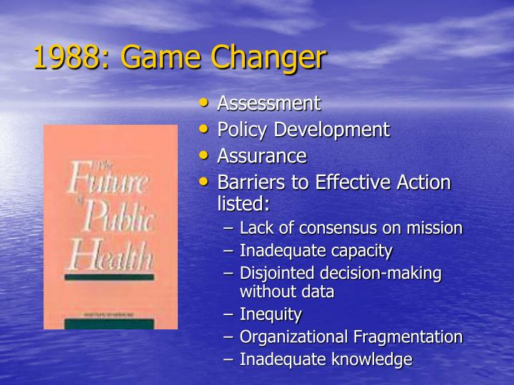 1988: Game Changer