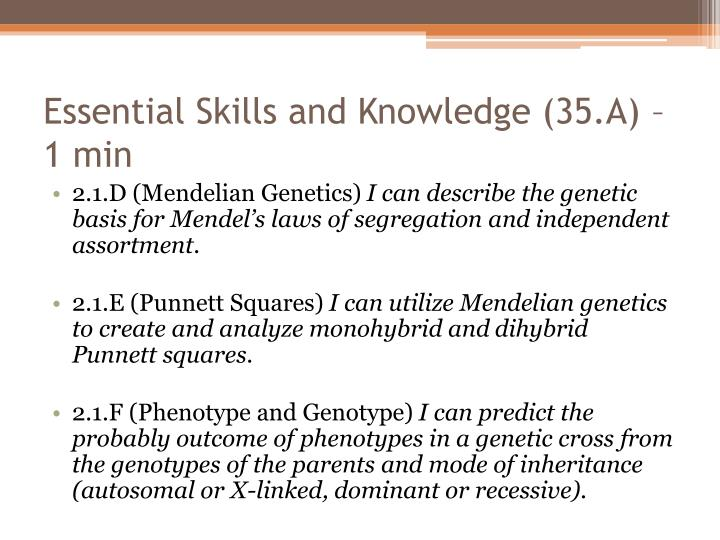 Essential Skills and