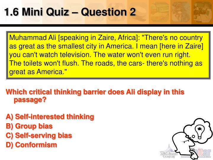 1.6 Mini Quiz – Question 2