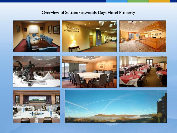 Overview of Sutton/Flatwoods Days Hotel Property
