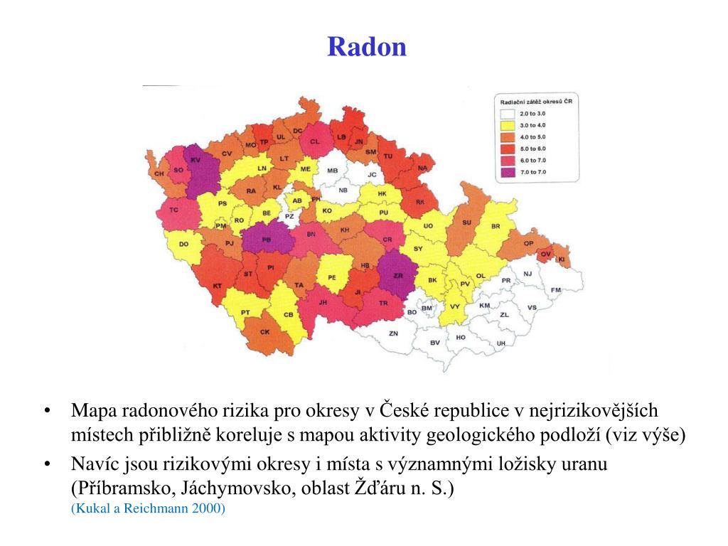 radiologické datování geologického času