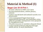 material method 1