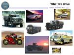 what we drive
