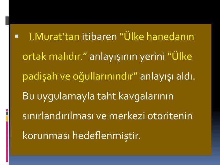 I.Murat'tan
