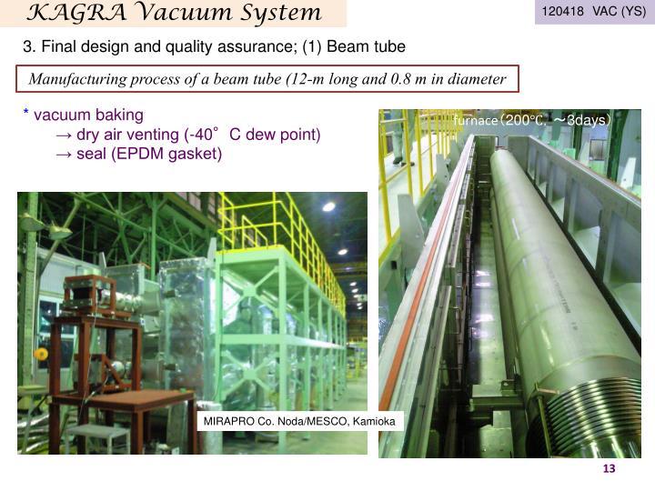 KAGRA Vacuum System