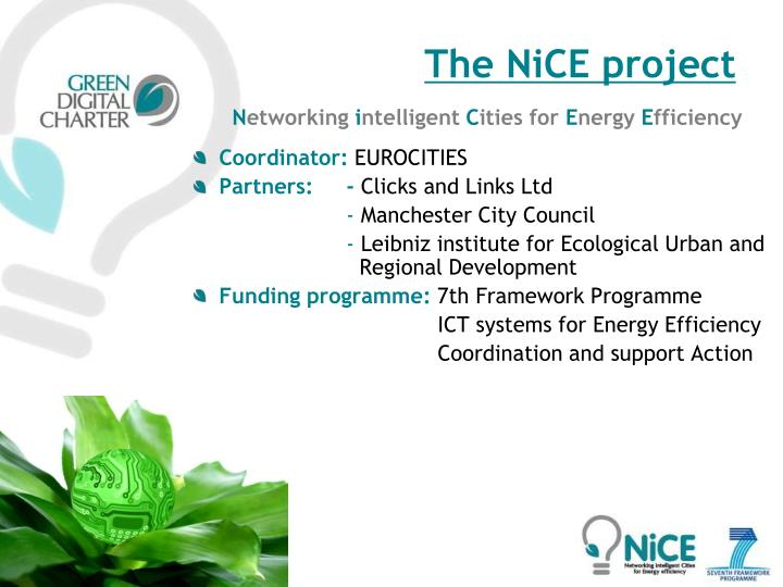 The NiCE project