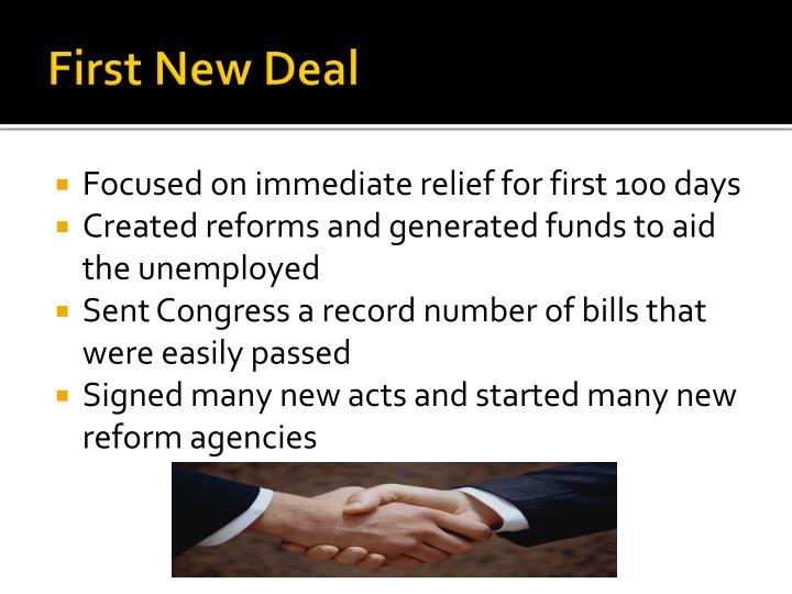 First New Deal