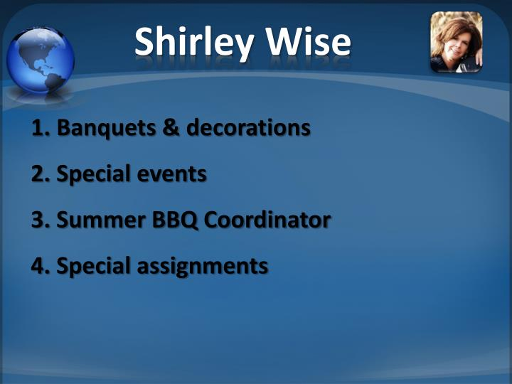 Shirley Wise