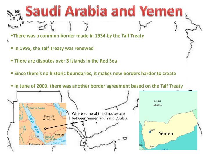 Saudi Arabia and Yemen