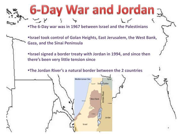 6-Day War and Jordan