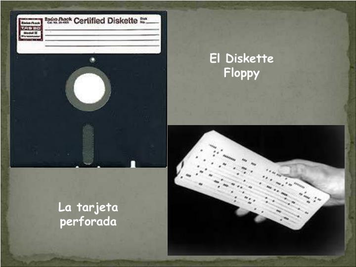 El Diskette Floppy