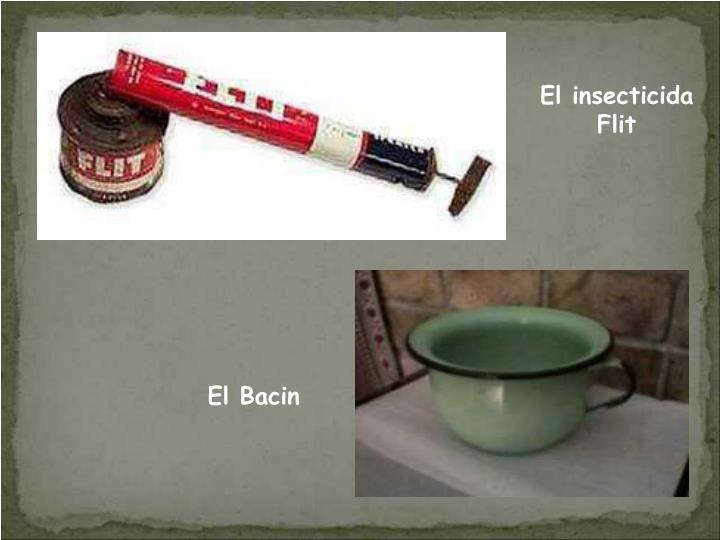 El insecticida Flit