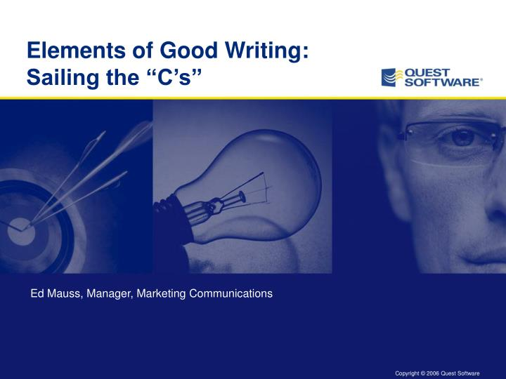 elements of good writing sailing the c s n.
