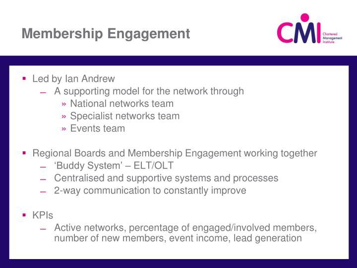 Membership Engagement