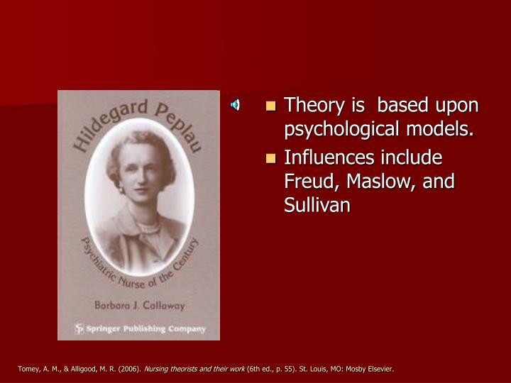 Theory is  based upon psychological models.