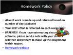 homework policy1