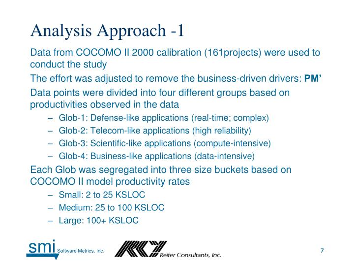 Analysis Approach -1
