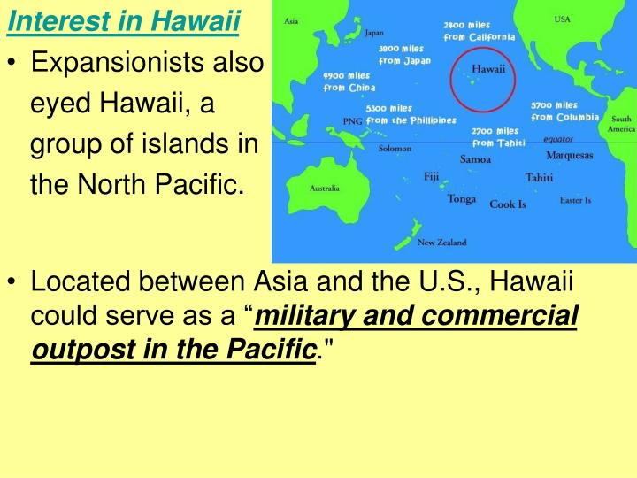 Interest in Hawaii