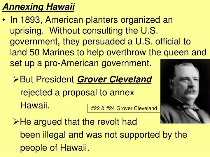 Annexing Hawaii