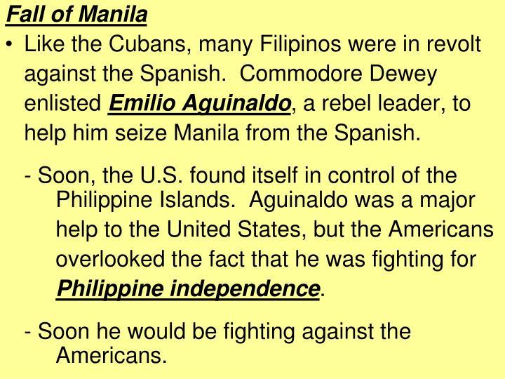 Fall of Manila
